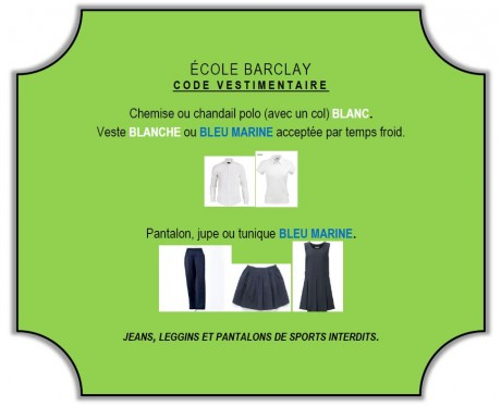 code vestimentaire web 2